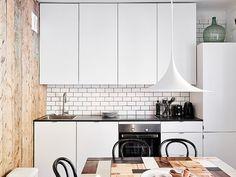 black and white kitchen by AMM blog, via Flickr