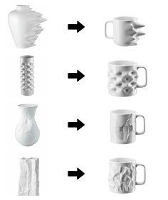 Quand les vases deviennent mugs avec Rosenthal