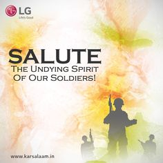 #KarSalaam to the undying spirit of our soldiers. Check out this space to know more. www.karsalaam.in