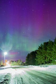 Aurora Borealis - Latvia, Ainaži beach
