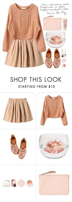"""""""that is love"""" by evangeline-lily ❤ liked on Polyvore featuring Uniqlo, Nine West, Mikasa, Korres, Monki and philosophy"""