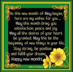 May you experience the above in Jesus name Amen, Happy new month once again. Happy New Month Images, Happy New Month Prayers, Happy New Month Quotes, New Month Wishes, April Quotes, May Quotes, Wish Quotes, Wishes For You, Happy New Month December