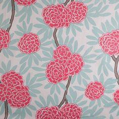 Mint Fleur Chinoise Swatch/Caitlin Wilson