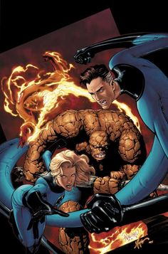 Marvel Knights: Four Cover by guisadong-gulay - The Fantastic Four