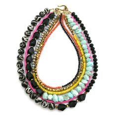 Stand Firm and Confident necklace by Elva Fields