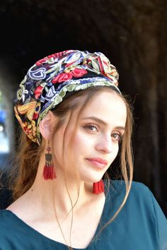 🧡💛💜Stunning Embroidery Floral Headband handmade Mitpachat, Head Covering, Scarf, Tichel, fashionable and so comfortable.#headscarf #Inspire #HeadwrapsStyle #Turban #summerstyle #beautiful #beauty #fashion #style #love #jew #jewish #judaic #judaica #judaism #torah #tanakh #hebrew #hebrewlanguge #ashkenazi #mizrahi #sephardi #religion #religious #israel #israeli #tichel #tichels #mitpachat #headcovering #modesty #beautiful #jewishwomen #mitpachat #scarves #he Awesome Gifts, Floral Headbands, Love To Shop, Outfit Posts, Lace Fabric, Floral Embroidery, Boho Fashion, Fashion Trends, Different Styles