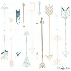 Image issue du site Web http://www.tattoosa.com/wp-content/uploads/2014/09/decorative-arrow-designs-by-amanda-shoemaker-of-shh-maker-design.jpg