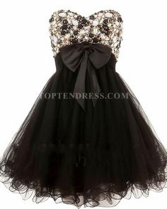 Sweetheart Elegant Embellished Strapless Prom Dress