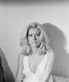 "labelledeneuve: "" Catherine Deneuve on the set of Liza (1972) """