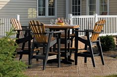 PATIO GALLERY: Patio Furniture Pub Table Sets