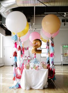 Girly 2nd birthday party | Ashley Nicole Events | 100 Layer Cakelet -----see site---- favorite things theme