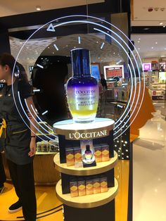 LOCCITANE Exhibition Display Stands, Pos Display, Wine Display, Exhibition Booth Design, Display Design, Product Display, Pos Design, Retail Design, Pop Up