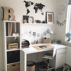 6 Outdoor Decor Ideas You Will Fall In Love With! Study Room Decor, Cute Room Decor, Room Ideas Bedroom, Small Room Bedroom, Bedroom Decor, Home Room Design, Home Office Design, Home Office Decor, Home Decor