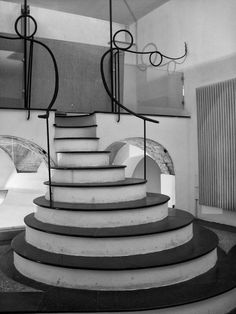 Circular staircase by @Papillon Photography