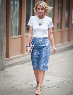 ELLE show how to wear lace #1  http://www.elleuk.com/fashion/what-to-wear/elle-wears-lace#image=1