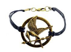 The Hunger Games Movie Bracelet, Mocking jay. I want it!!!!!!!!!!