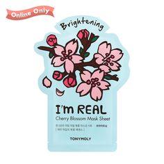 Cherry Blossom - Im Real Sheet Mask (Set of 2)