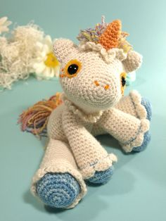 Ravelry: Hermione the unicorn pattern by Dawn Toussaint