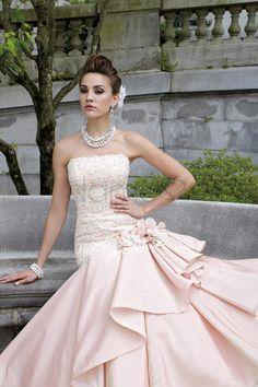 Tiefe Taile Meerjungfrau Lace Spitze elegantes & luxuriöses bodenlanges trägerloses Brautkleid