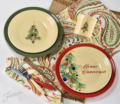 D?? & Fiesta Christmas Tree Collection - Casual Dinnerware - Dining ...