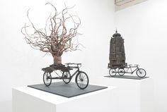 Gerry Judah 'Fragile Lands' Exhibition - The Clothes Maiden