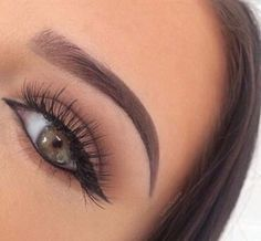Natural Brown Makeup
