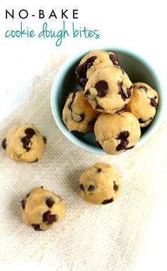 These cookie dough balls are no-bake and egg free! The perfect way to enjoy cookie dough. These can be stored in the freezer for those times when you need a little treat!
