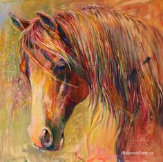 Magical Moment by Shannon Ford Fine Artist Watercolor Paintings, Original Paintings, Watercolours, White Sewing Machine, Cool Art, Awesome Art, Equine Art, Horse Art, Abstract Oil