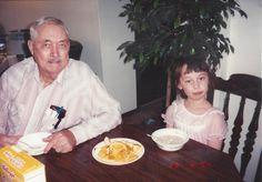 Grandpa Eddie and Tami