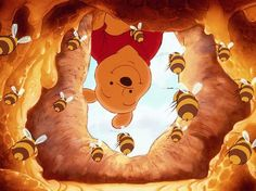 ..Pooh << Honey bees, honey bees, honey bees in the tree i've always loved the tigger movie, and this song
