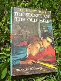 Vintage The Hardy Boys Book  The Secret of the Old by mrsbatty