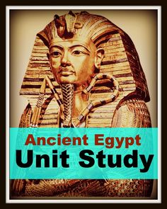 Ancient Egypt Unit Study: Map of Egypt (plus lots of links for books and hands on activities with instructions- The Unlikely Homeschool