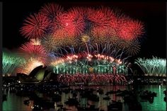 New year 'site even fireworks in Sydney