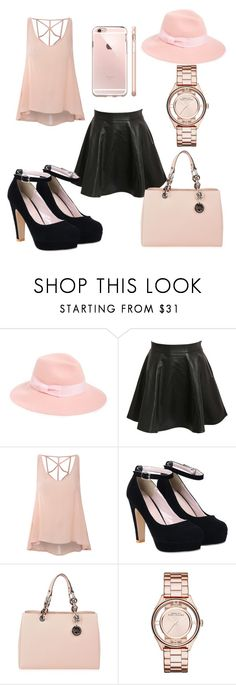 """"""""""" by jayla-baby ❤ liked on Polyvore featuring August Hat, Pilot, Glamorous, MICHAEL Michael Kors, Marc by Marc Jacobs, women's clothing, women, female, woman and misses"""