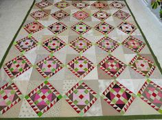 Another Bonnie Hunter quilt