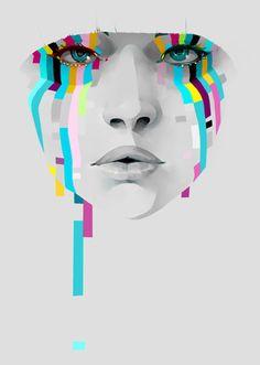 """paexie: """" Print available at ♥ """" Art Graphique, Digital Illustration, Illustration Fashion, Fashion Illustrations, Digital Collage, Digital Art, Grafik Design, Portrait Art, Portraits"""