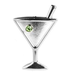 Finders Key Purse Key Chain - Martini
