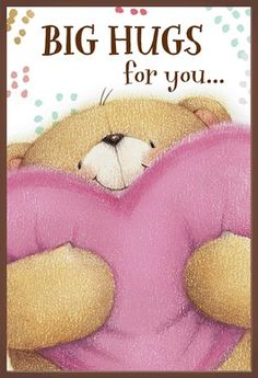 Hug Quotes, Love Quotes, Funny Quotes, Big Hugs For You, Hug You, Tatty Teddy, Teddy Bear, Friends Forever, Best Friends