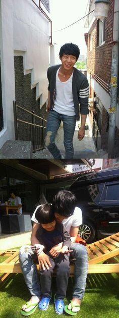 JYJ's Yoochun spotted with a child on Children's Day #allkpop #kpop #JYJ