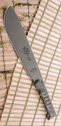 TOPS Knives 170 Survival Machete Model MAC-170 Fixed Knife Blade @aegisgears