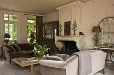 greige: interior design ideas and inspiration for the transitional home : Gilles Tillard {simply detailed}
