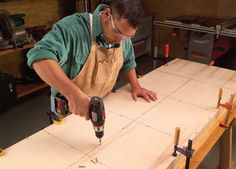 Torsion-Box Workbench and Expandable Assembly Table Double your work space without doubling your shop space. By Randy Johnson and Luke Hartle In our shop, we used to pile tools, parts and hardware on top of a wobbly workbench made from 2x4s. When we had to glue a project together, we shoved everything aside. Finally, we got tired of searching for tools and space and set out to make a new …