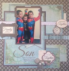 Hello everyone! It is Fabulous Friday and it's my turn to show you some different ways to use the Kaisercraft collections this month. First up is the GENERATIONS collection with subtle tones, pa. Hello Everyone, Say Hello, Great Gifts, Scrapbooking, This Or That Questions, Layouts, Blog, Friday, Collections