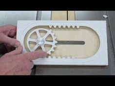 Mechanism with oscillating link (Kulisový otáčavý mechanizmus) 3D Creo Elements - YouTube