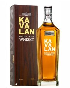 KAVALAN SINGLE MALT WHISKY 40% 70 cl www.wijn-sterkedranken.be