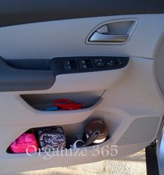 Car Organization: Your Home Away From Home   office in a door