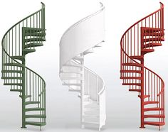 Spiral staircases spirals and staircases on pinterest for Square spiral staircase plans hall