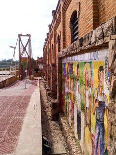 Ponte Pênsil - Complexo da Cachoeira.