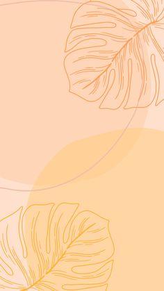 Aesthetic wallpaper orange