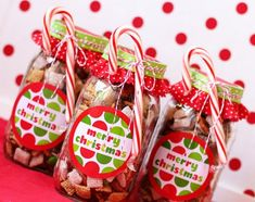 Easy homemade Christmas presents Childrens candy bags